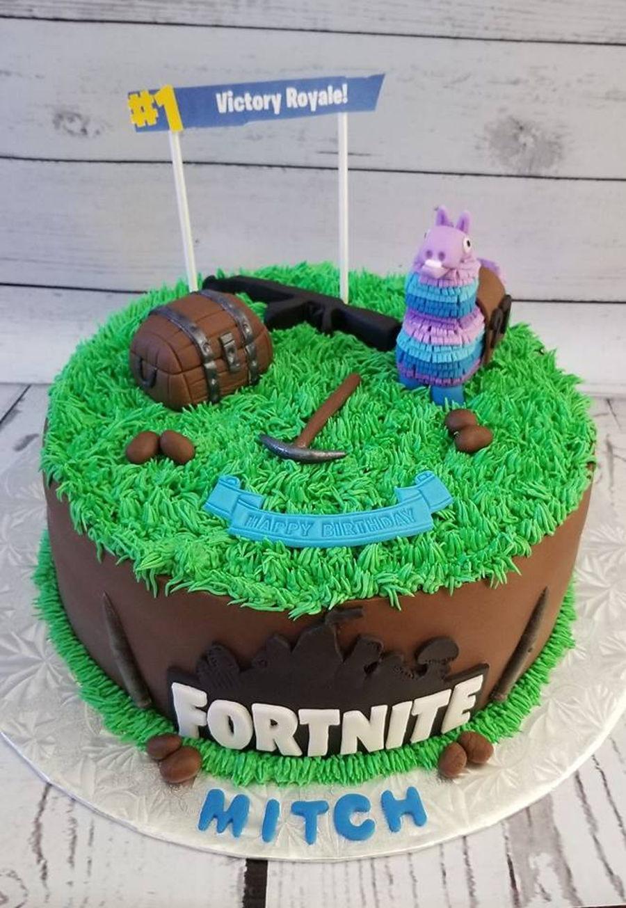 fortnite cakes