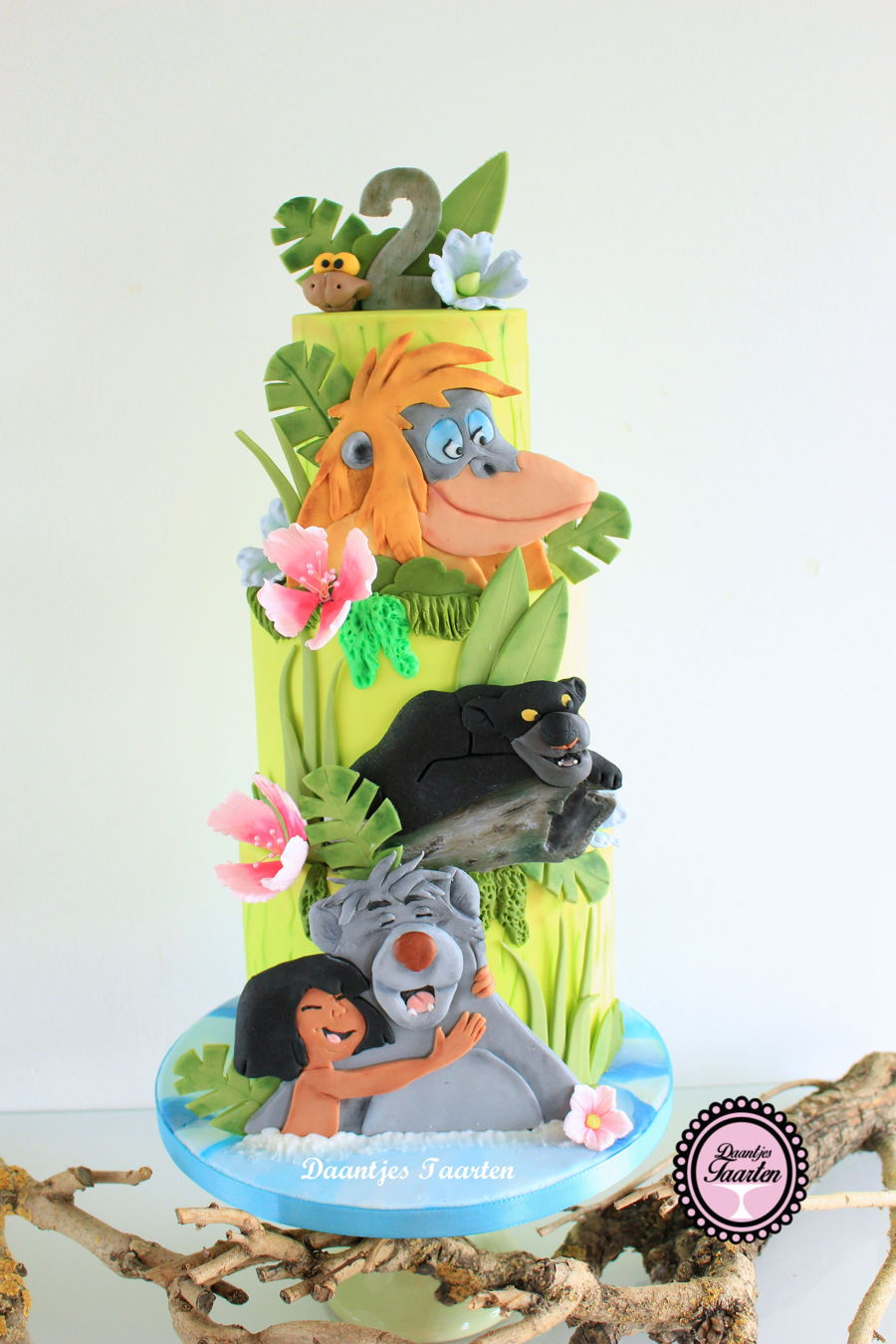 Jungle Book on Cake Central
