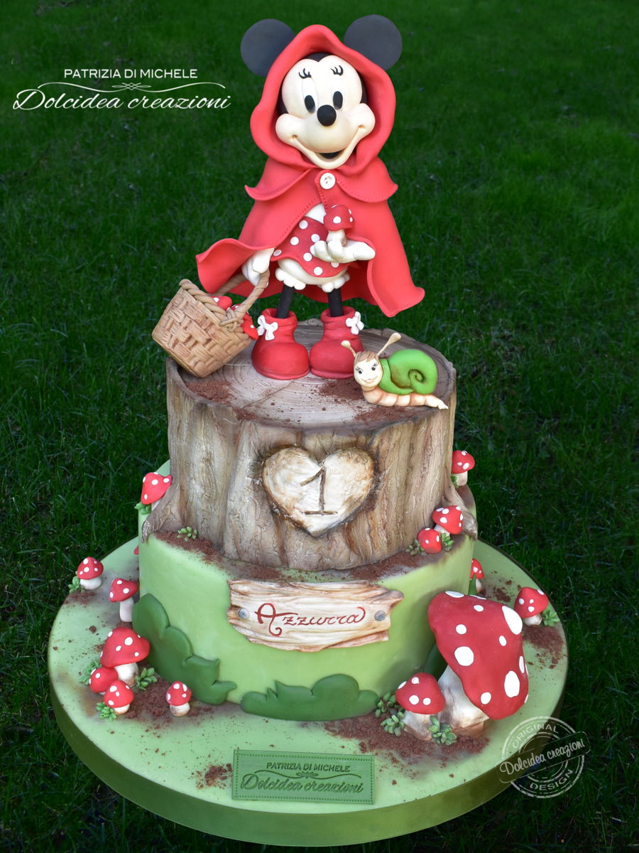 Little Red Riding Minnie on Cake Central