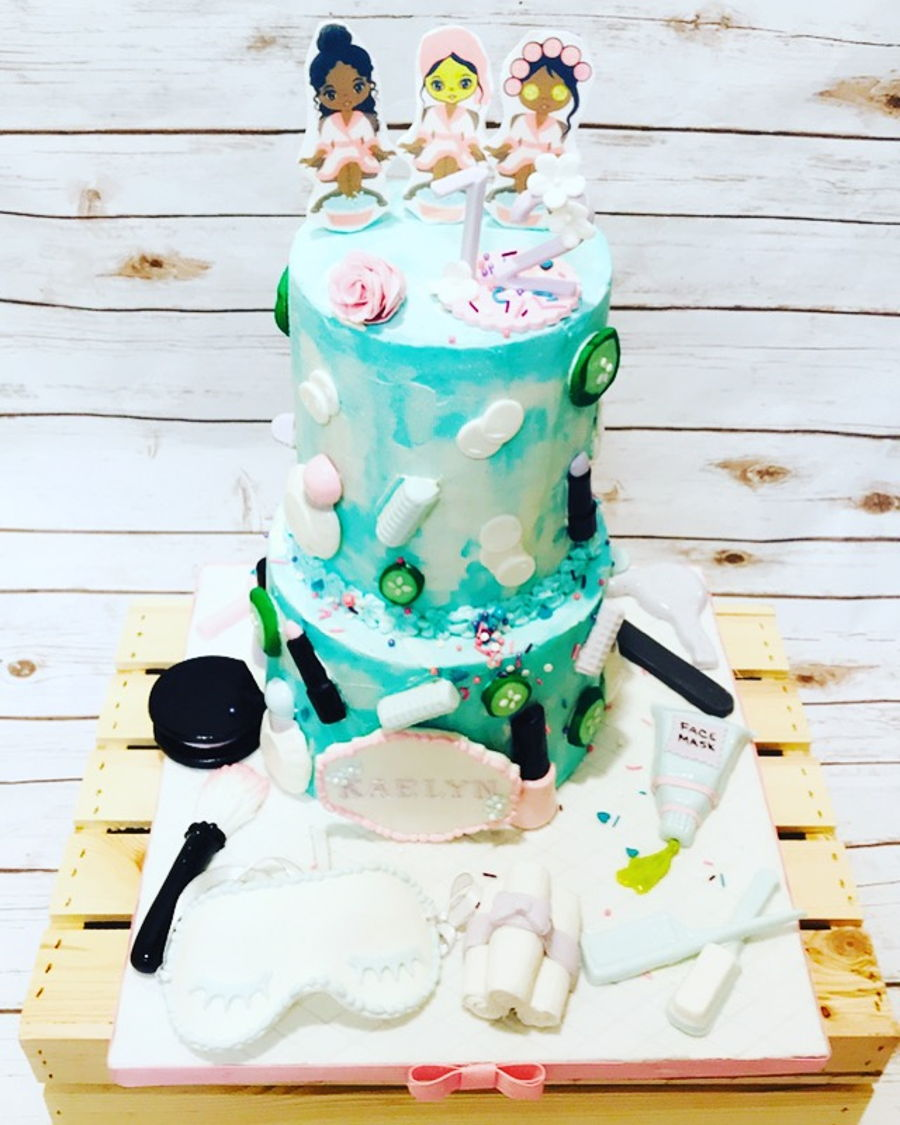 Brilliant Spa Day Birthday Cake Cakecentral Com Funny Birthday Cards Online Necthendildamsfinfo