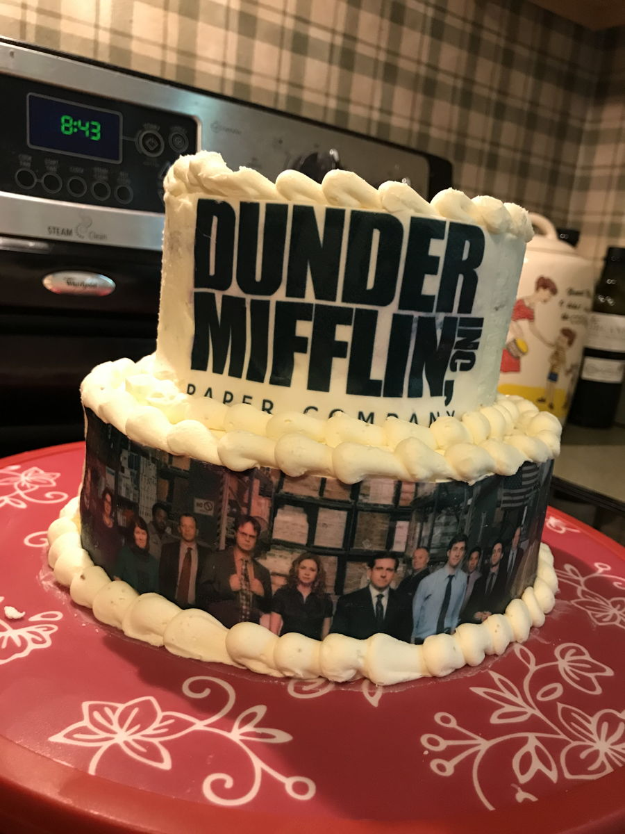 The Office Dunder Mifflin Cake - CakeCentral.com