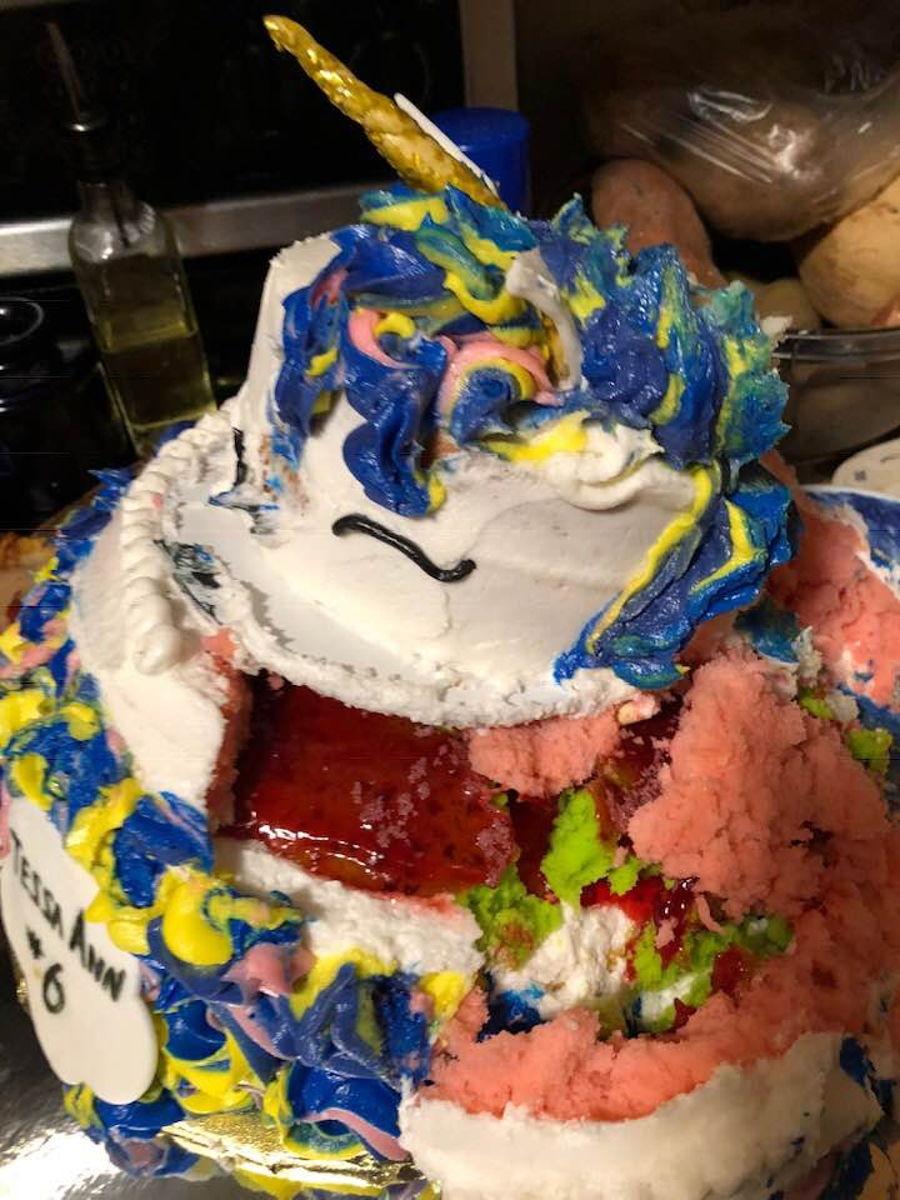 Unicorn Cake Fail Cakecentral Com