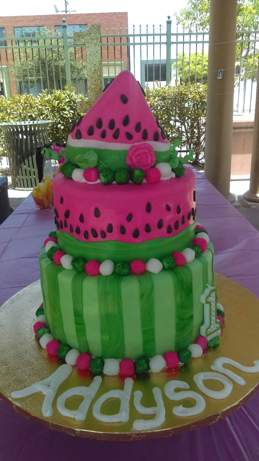 Watermelon 1St Birthday on Cake Central