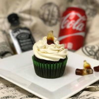 Jack And Coke Cupcakes Cola cupcakes with a jack daniels infused frosting