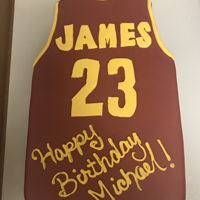 Lebron James Cake Lebron James Birthday Cake