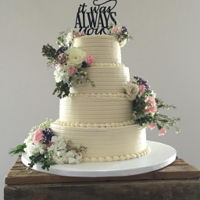 Rustic Wedding Rustic wedding cake