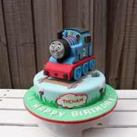 Thomas Train Cake How to make the face of Thomas the tank engine cake.