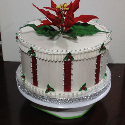 A Veterans Christmas Party Cake