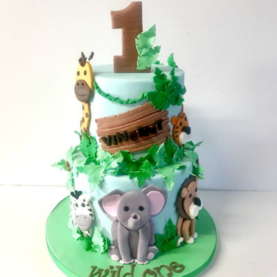 Jungle Safari 1St Birthday