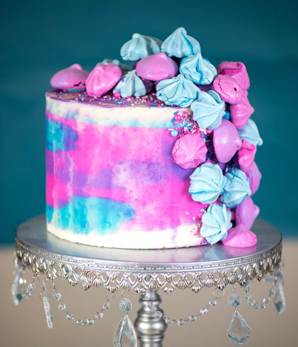 Ombre Surprise: This Cake Features A Different Color With...