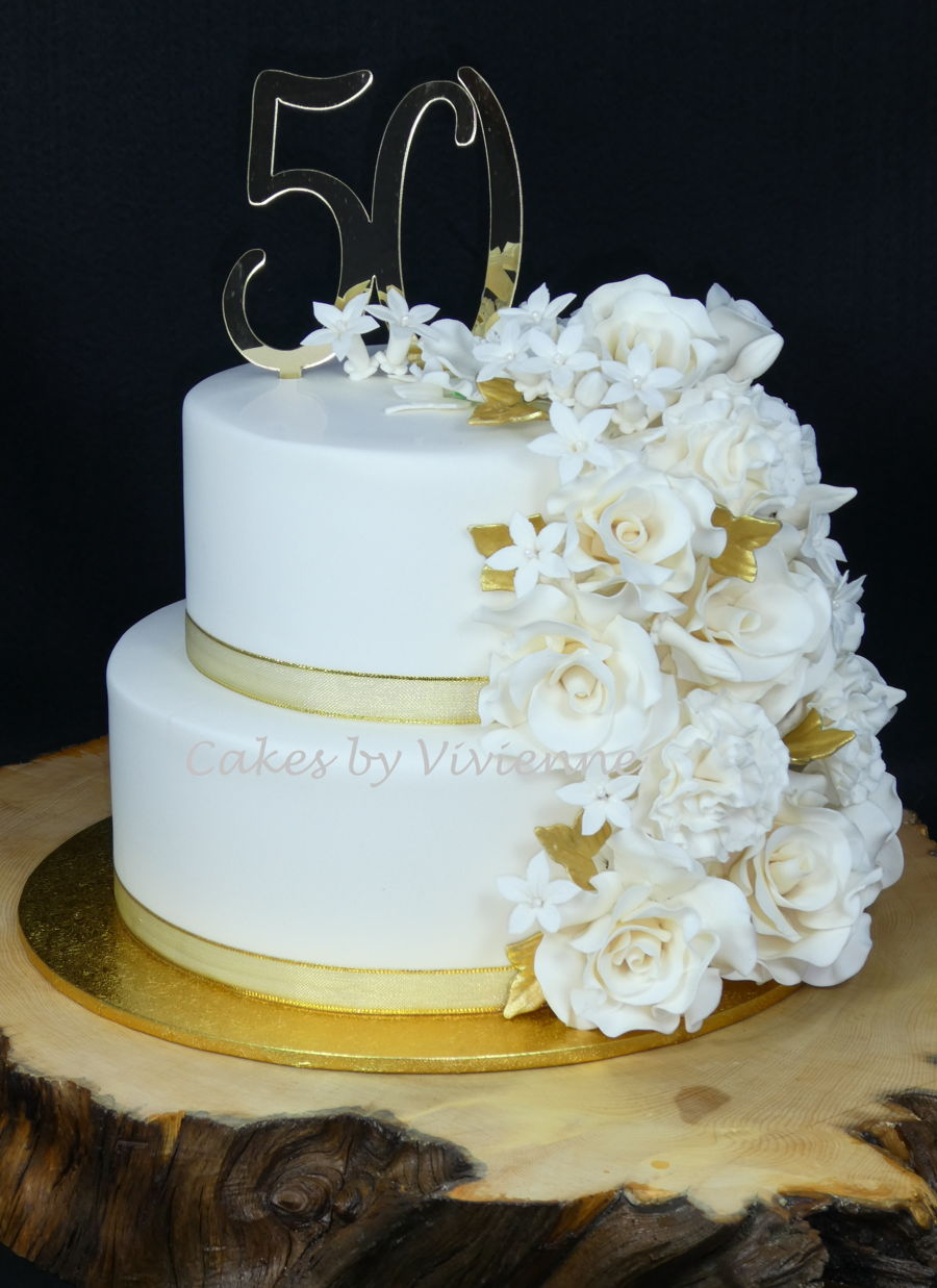 50th Wedding Anniversary Cakes.50th Wedding Anniversary Cake Cakecentral Com