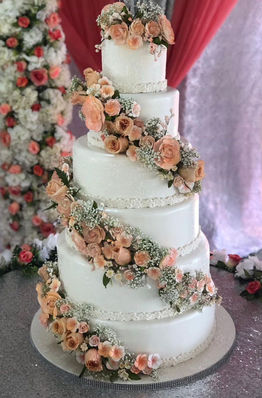 Floral Accents on Cake Central
