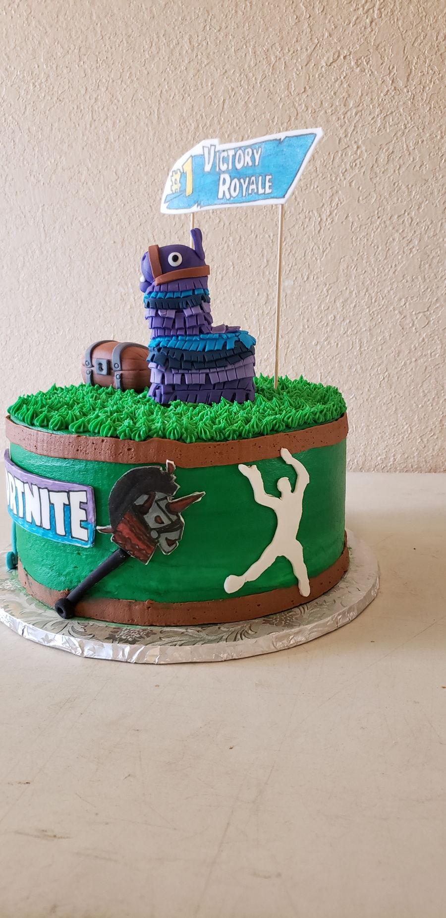 Fortnite Cake Cakecentral Com