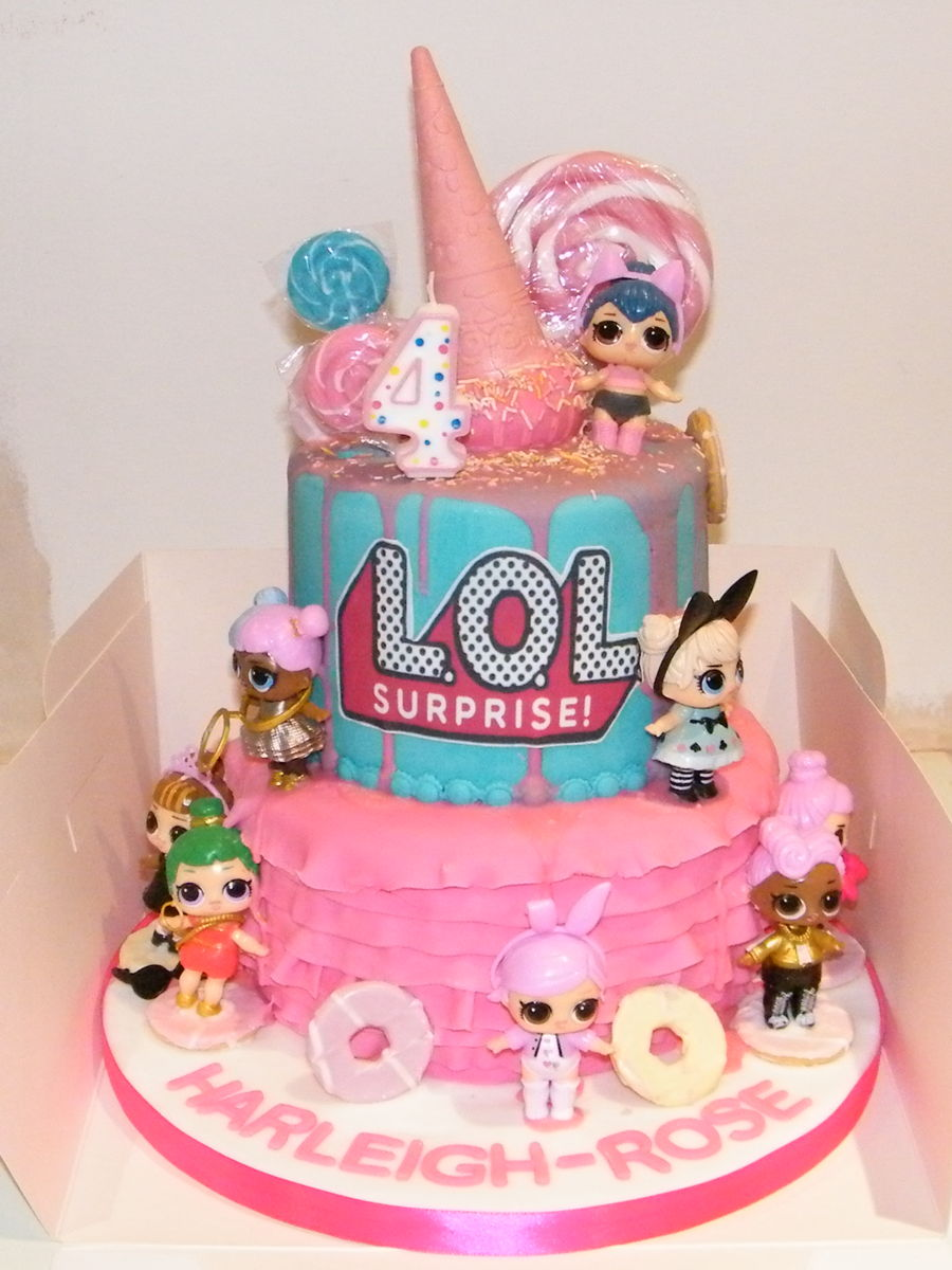 Lol Surprise Birthday Cake , CakeCentral.com