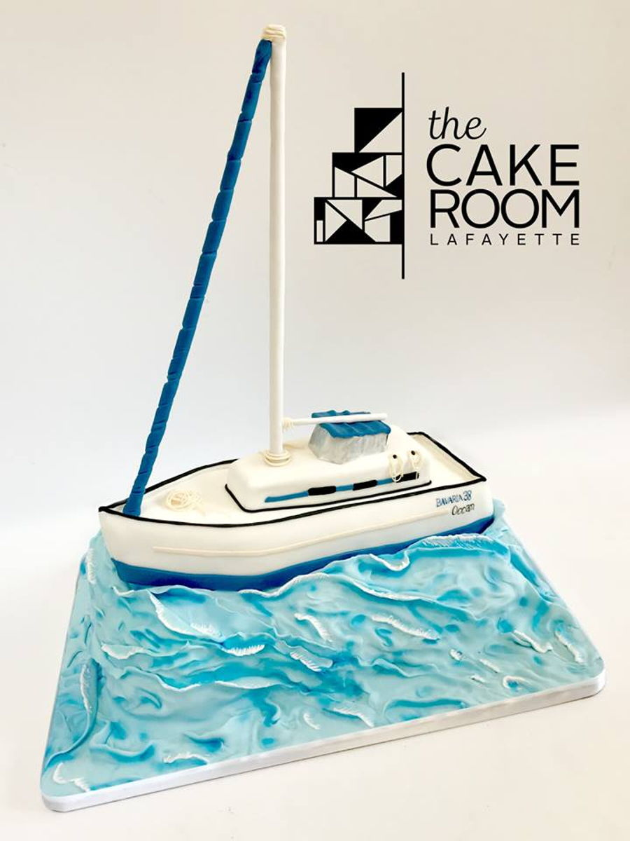 Sail Boat on Cake Central