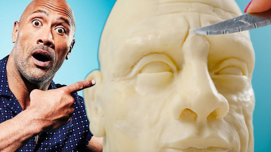 Solid Chocolate Dwayne 'the Rock' Johnson on Cake Central