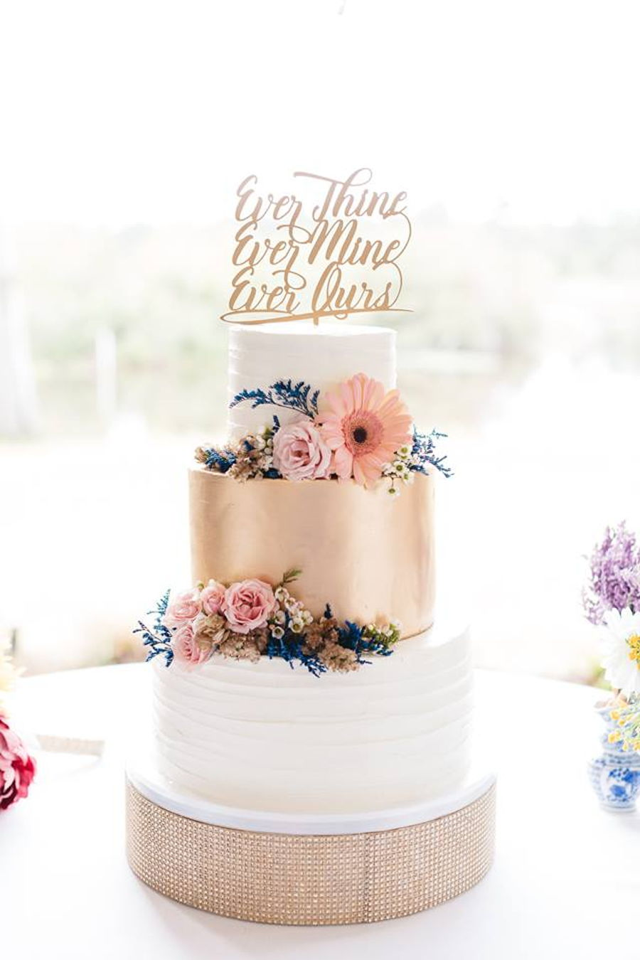 Southern Gold Wedding Cake on Cake Central