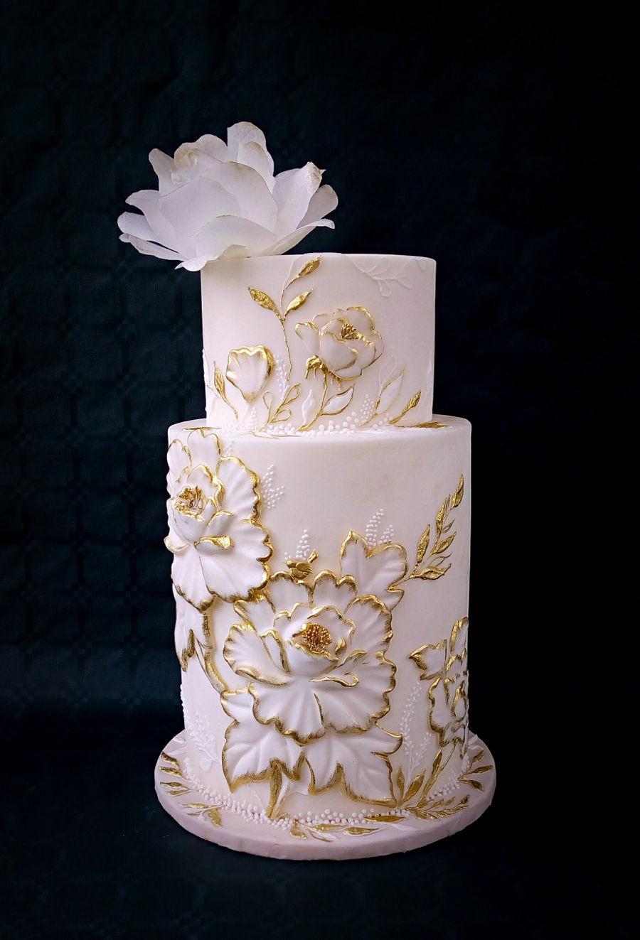 Wedding Cake on Cake Central