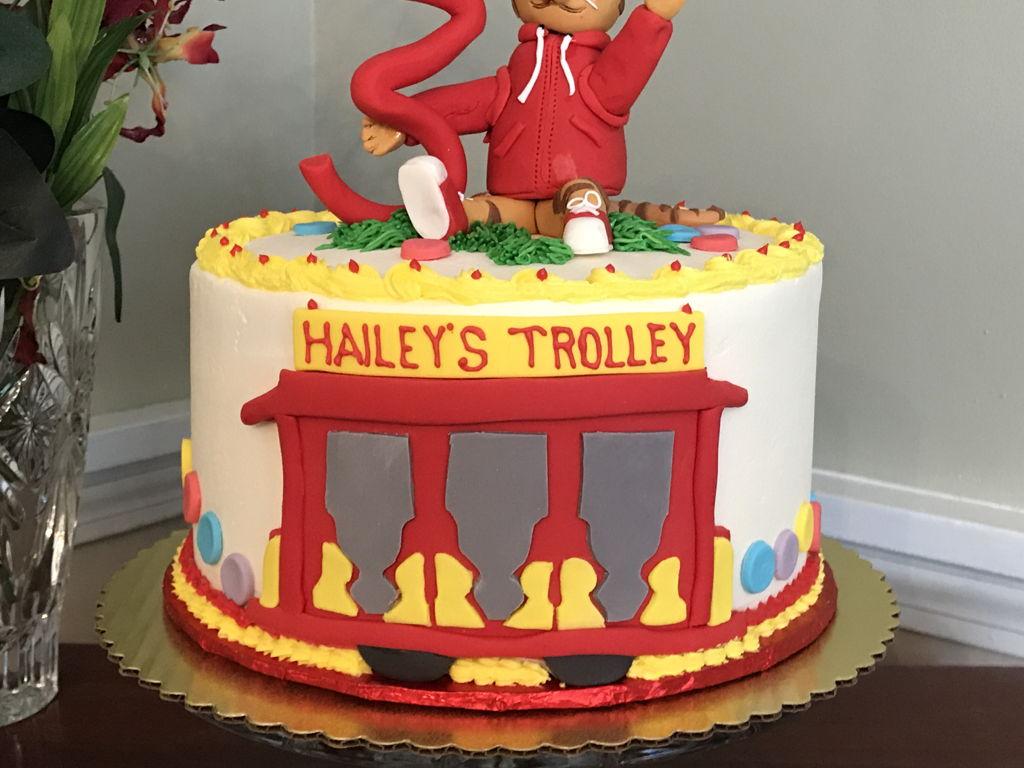 Awesome Daniel Tiger Cake Cakecentral Com Funny Birthday Cards Online Elaedamsfinfo