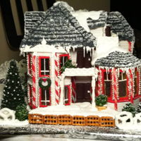 Gingerbread House Contest Winner This was my first entry in a local gingerbread house contest that took first prize