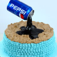 How To Make Anti-Gravity Pepsi Cake Hi everyone! I just wanted to share my new tutorial: https://alexrygiel.com/2019/02/24/how-to-make-anti-gravity-pepsi-cake/