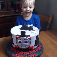 Icing Smiles Birthday Cake Declan requested a Thomas the train cake for his 4th birthday. I was pleased and honoured to oblige. All elements of the cake are fondant...