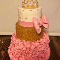Princess Cake Cake I volunteered to make for the Mommy Daughter Princess Dance coming up. Really hoping this will finally get my name out there! The only...