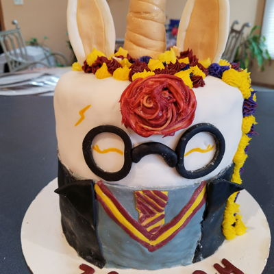Harry Potter Baby Shower Cake