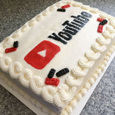 Superb Youtube Cake Decorating Photos Personalised Birthday Cards Paralily Jamesorg