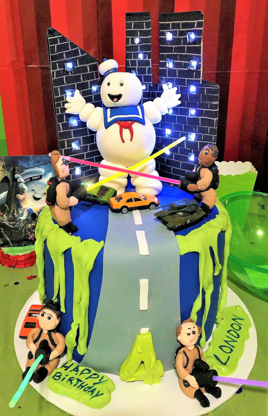 Ghost Buster Cake on Cake Central