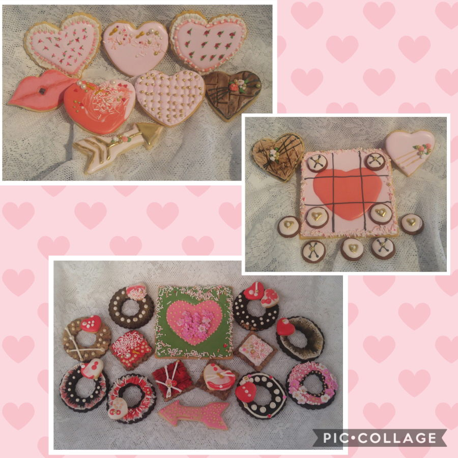 Happy Valentine'S Day Cookies on Cake Central