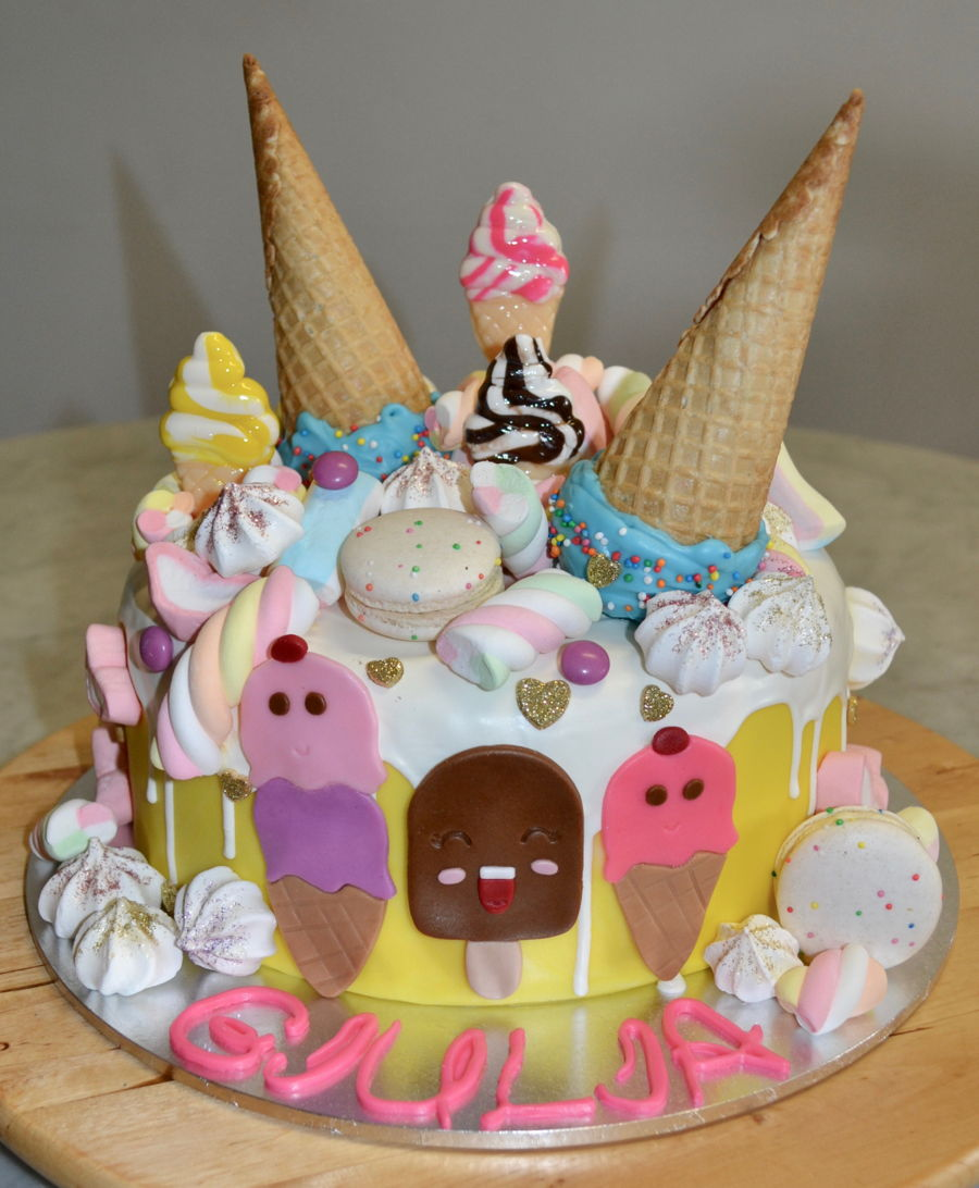 Ice Cream Galore on Cake Central