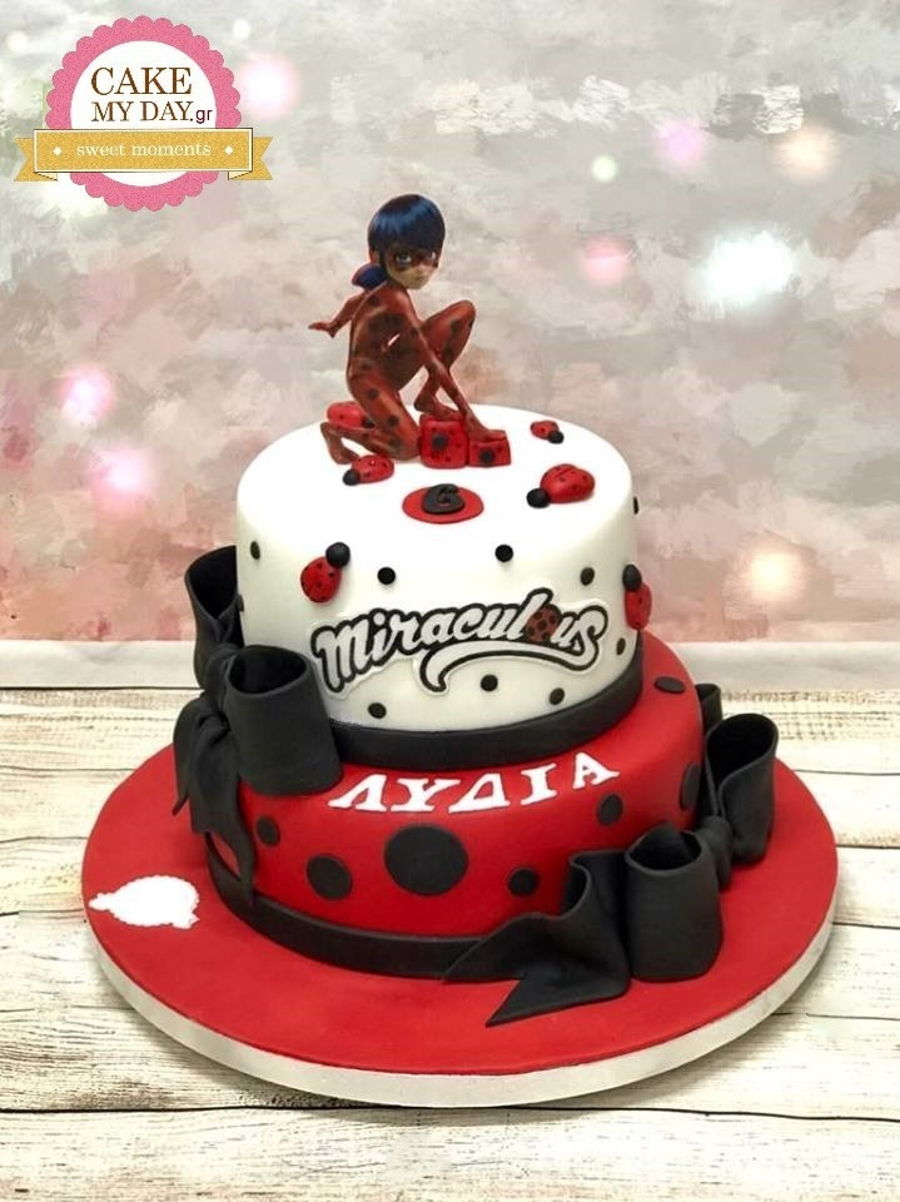 Astounding Lady Bug Cake Cakecentral Com Funny Birthday Cards Online Elaedamsfinfo