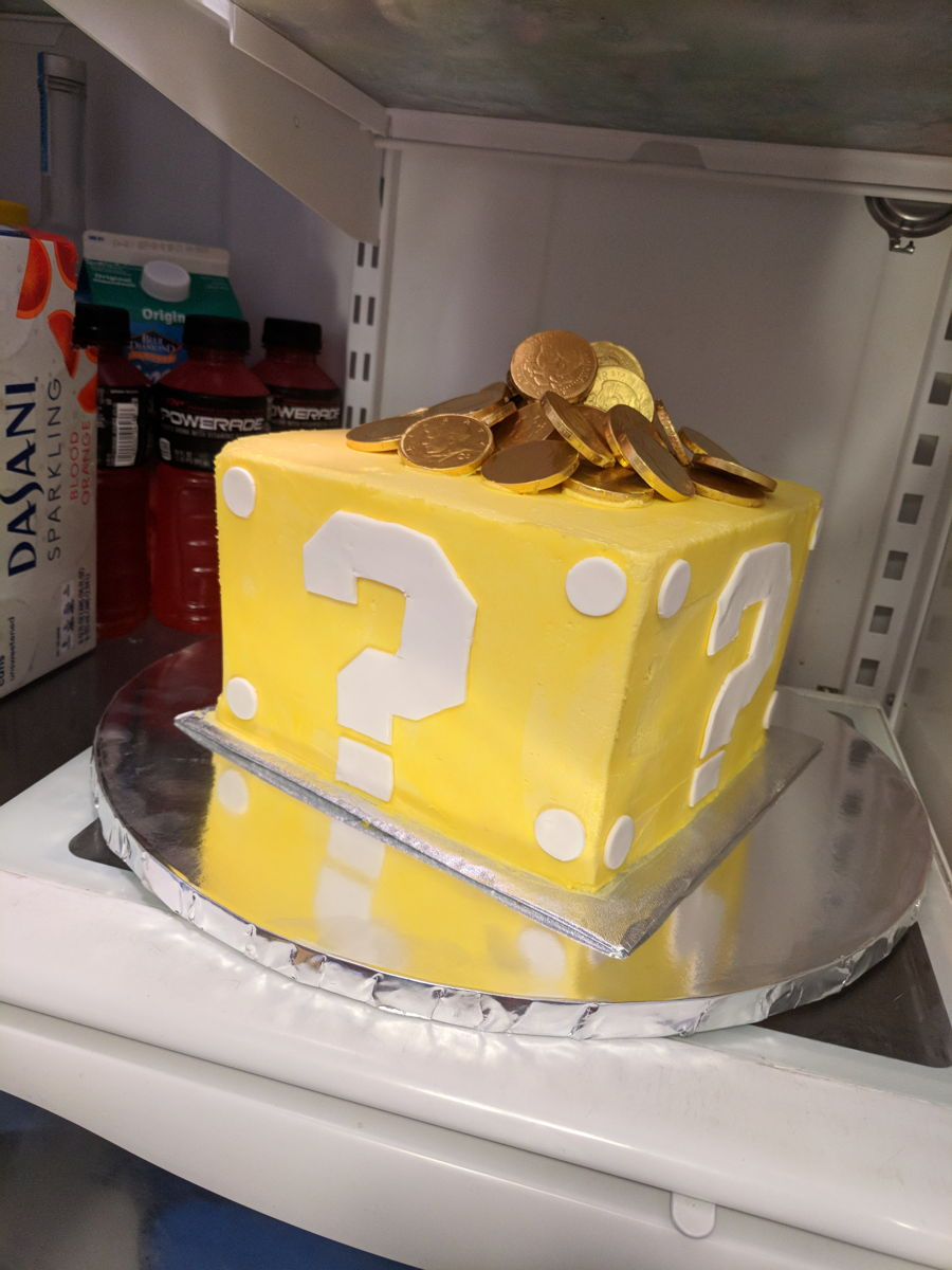 Mario Mystery Box Cake on Cake Central