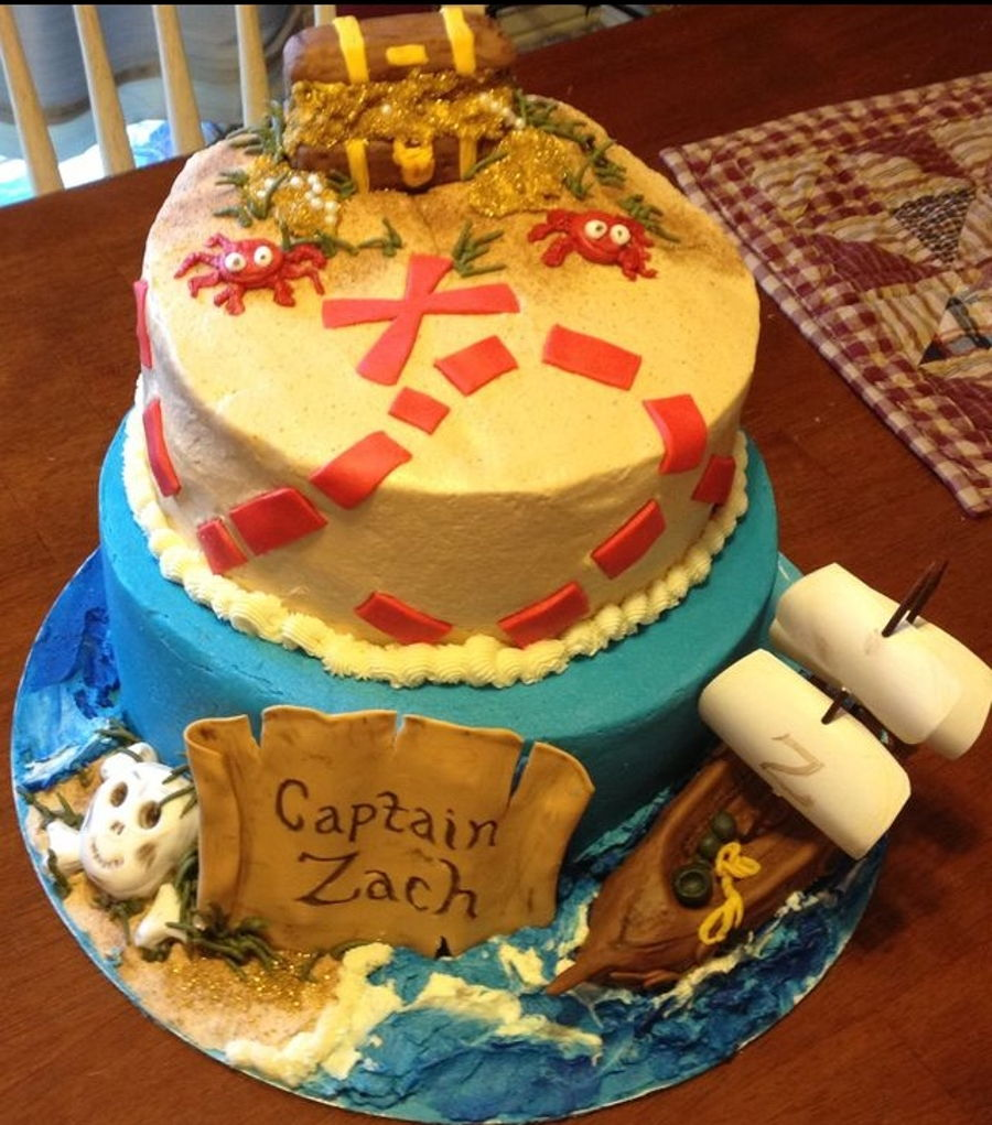 Pirate Treasure on Cake Central