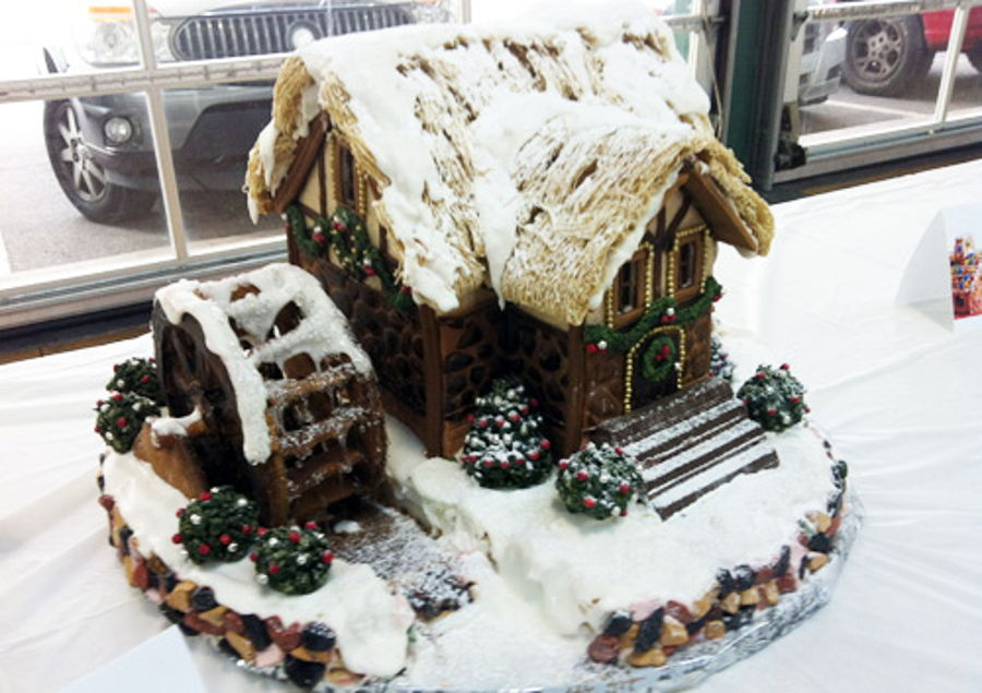 Watermill Gingerbread House on Cake Central
