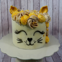 Cute Buttercream Cat Cake I've made this cake for a Cat Lover, I hope you like it too. If you are curious and want to see how I've made it, there is a...