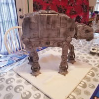 My At-At Cake Star Wars AT-AT Cake.