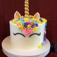 Unicorn Cake These are Super popular lately....this one if for my Granddaughters 7th Birthday.