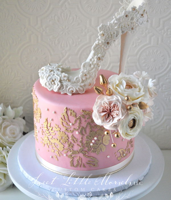Bridal Shower High Heel Cake