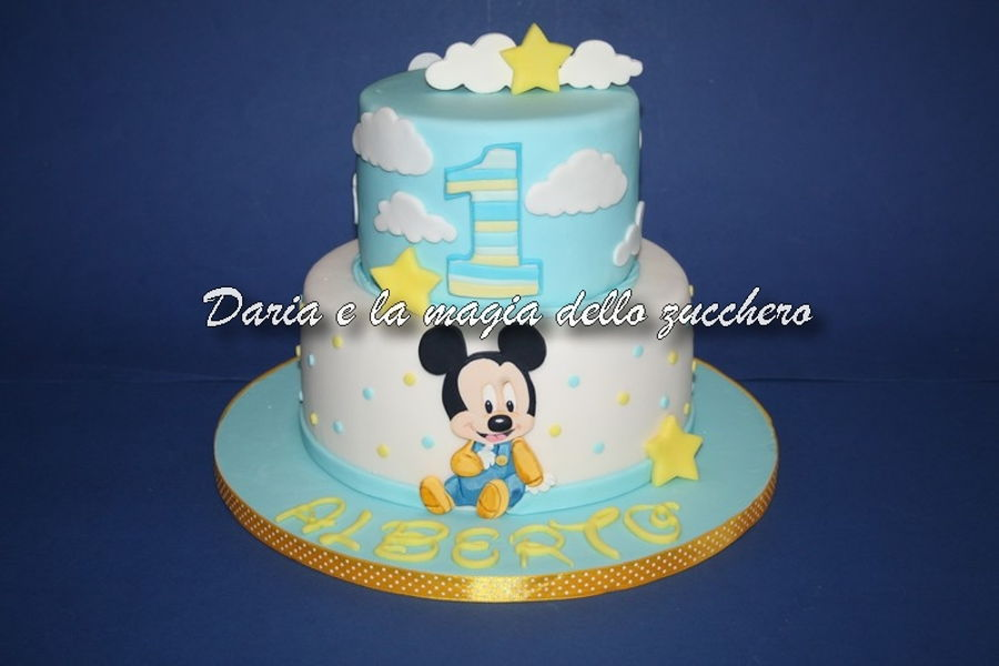 Admirable Baby Mickey Mouse Cake Cakecentral Com Funny Birthday Cards Online Alyptdamsfinfo