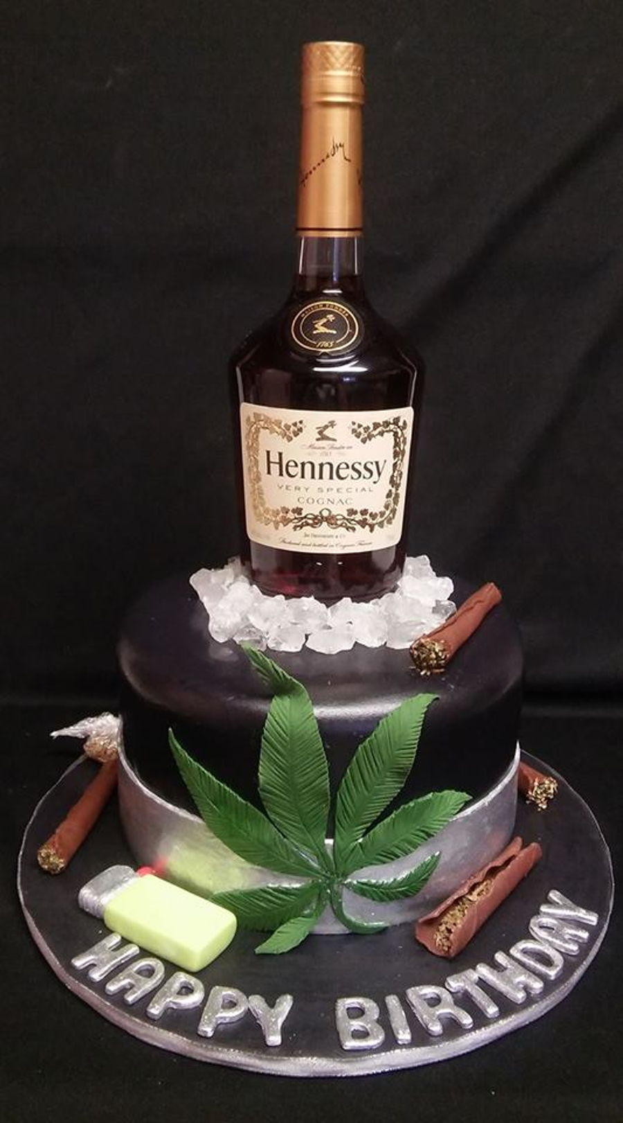 Hennessey & Happy on Cake Central