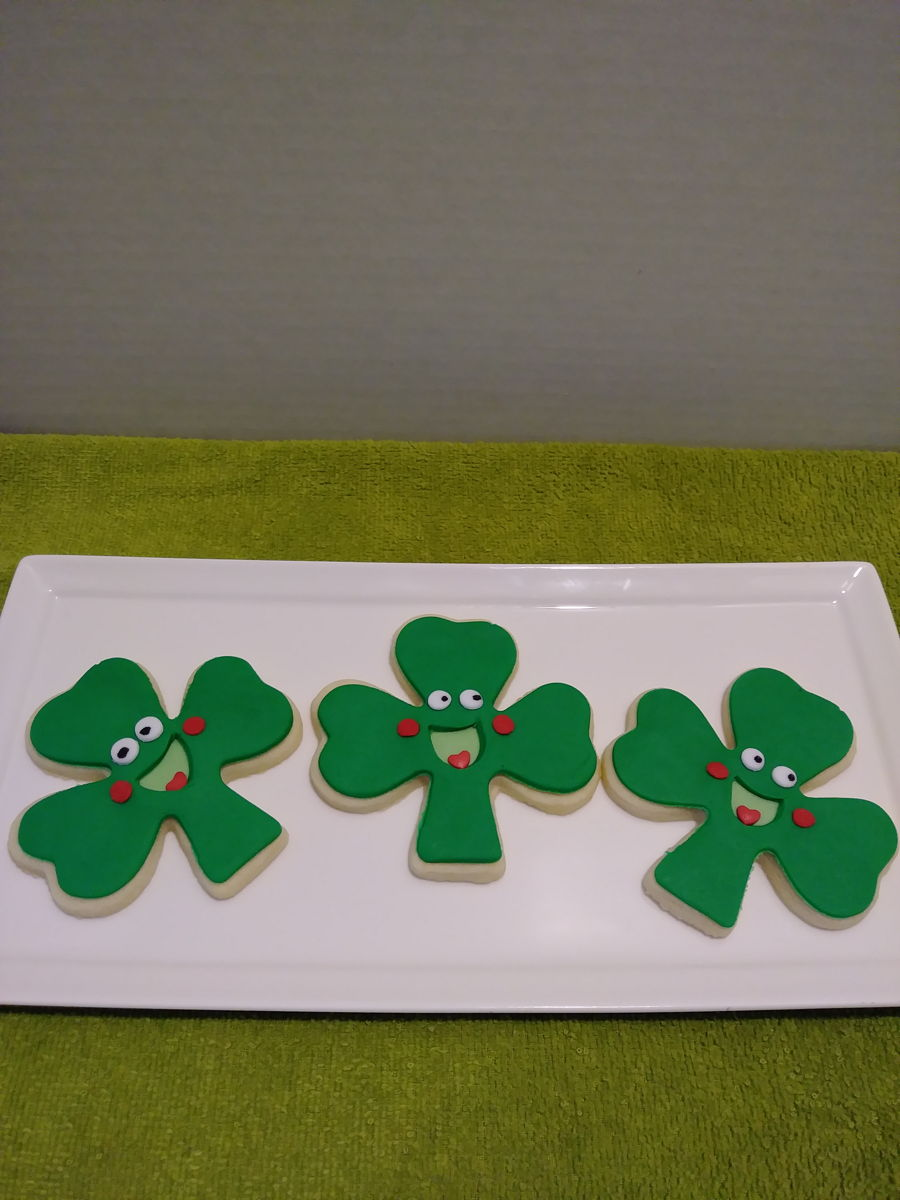 Saint Patrick's Day Cookies on Cake Central