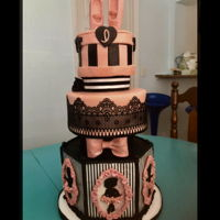 Ballerina Cake Granddaughter asked for a ballerina cake for her 4th birthday. The bottom was inspired by a photo of a cake I had saved for years because I...