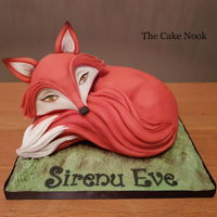 Fox Cake Fox cake I made for my daughter birthday earlier this year. Hope you like it. Zoe Xx www.facebook.com/TheCakeNook