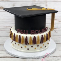 Fsu Graduation Cake Graduation Season is here. This is one I did for an FSU Graduate.
