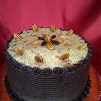 German Chocolate Cake This was a Relay for Life donation