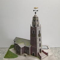 St. Anne's Church, Cork. Ireland Made this church for our local sugarcraft exhibition and was delighted it received a Gold award. This was a sugar sculpting made to scale...