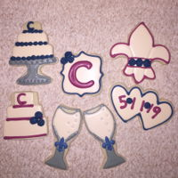Wedding Cookie Set Wedding Cookie Set Congrats to Ronnie & Sheila Chiasson