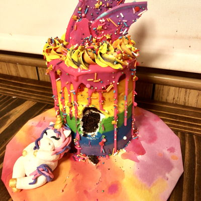 Another Fat Unicorn Cake!